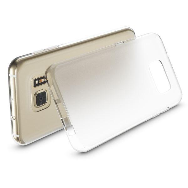 NALIA HandyhNALIA Handyhülle kompatibel mit Samsung Galaxy S7, Slim Silikon Case Cover Hülle, Dünne Crystal Schutzhülle Handy-Tasche Back-Cover Bumper, TPU Smart-Phone Gummihülle - Transparent Weiß – Bild 2