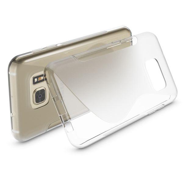 NALIA Handyhülle kompatibel mit Samsung Galaxy S7, Ultra-Slim Silikon Case Cover Hülle, Dünne Crystal Schutzhülle Etui Handy-Tasche Back-Cover Bumper, TPU Smart-Phone Gummihülle - S-Line Transparent – Bild 2