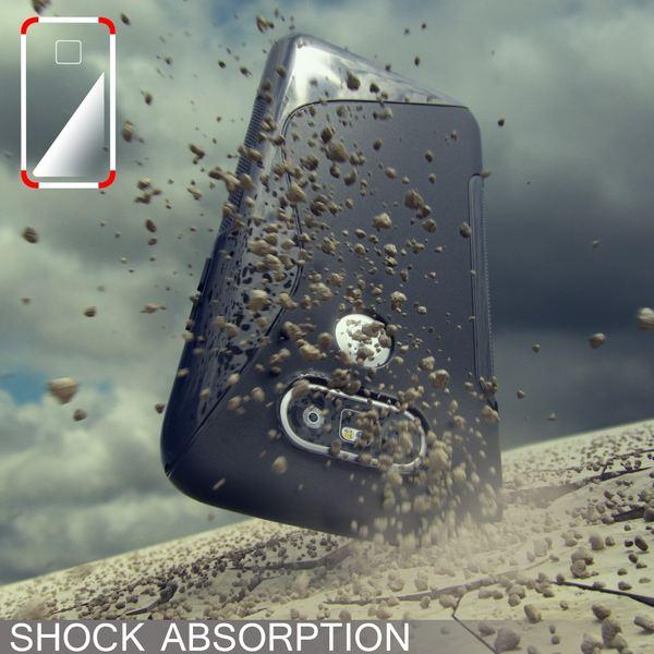 NALIA Handyhülle für LG G5, Ultra-Slim Silikon Case Cover, Dünne Crystal Schutzhülle, Etui Handy-Tasche Back-Cover Phone Bumper, TPU Gummihülle für LG-G5 Smartphone - Transparent Weiß – Bild 6