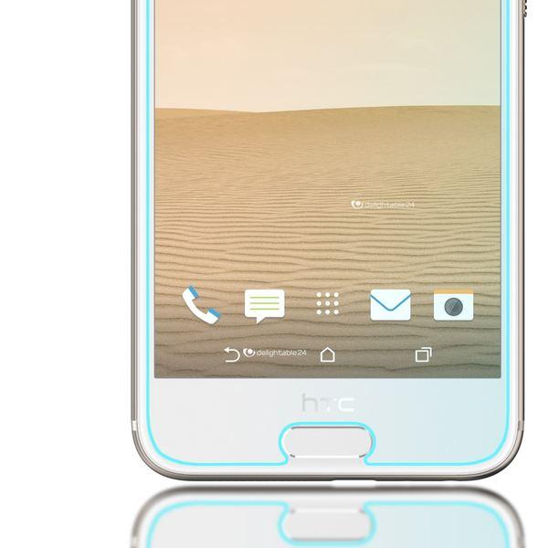 NALIA Schutzglas kompatibel mit HTC One A9, 9H Glas-Schutzfolie Display-Abdeckung Hüllen-Kompatibel, Handy-Folie Schutz-Film Glasfolie, Smart-Phone HD Screen Protector Tempered Glass - Transparent – Bild 5