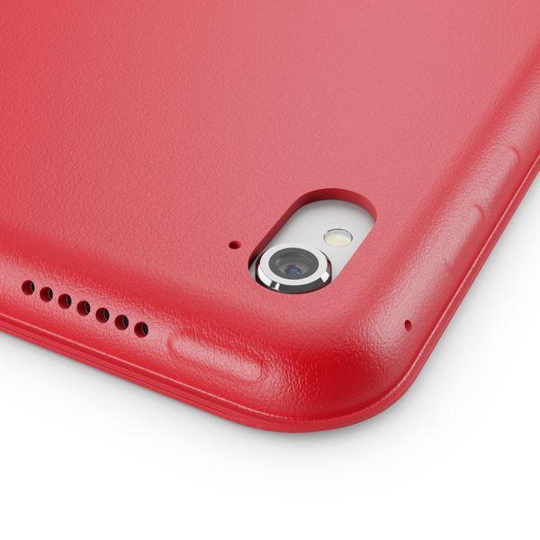 NALIA Smart-Case kompatibel mit iPad Pro 9,7 (2016), Slim Tablet Cover Schutzhülle, Kunst-leder Hardcase Multi-Ständer Tasche, Display-Schutz & Backcover Flip-Case Klapphülle Sleeve - Rot – Bild 3