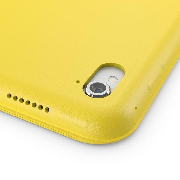 NALIA Smart-Case kompatibel mit iPad Pro 9,7 (2016), Slim Tablet Cover Schutzhülle, Kunst-leder Hardcase Multi-Ständer Tasche, Display-Schutz & Backcover Flip-Case Klapphülle Sleeve - Gelb – Bild 3