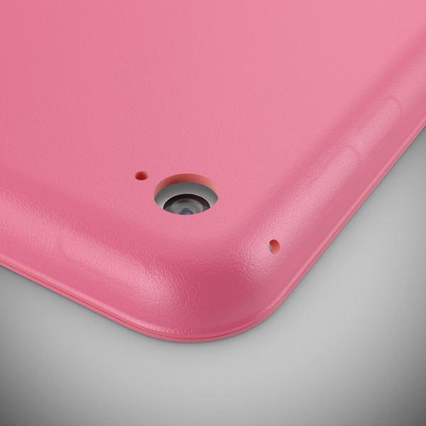 NALIA Smart-Case für Apple iPad Mini 4, Ultra-Slim Cover Dünne Tablet Schutzhülle, Kunst-leder Hardcase Multi-Ständer Tasche, Display-Schutz & Backcover Flip-Case Klapphülle Sleeve - Pink – Bild 3