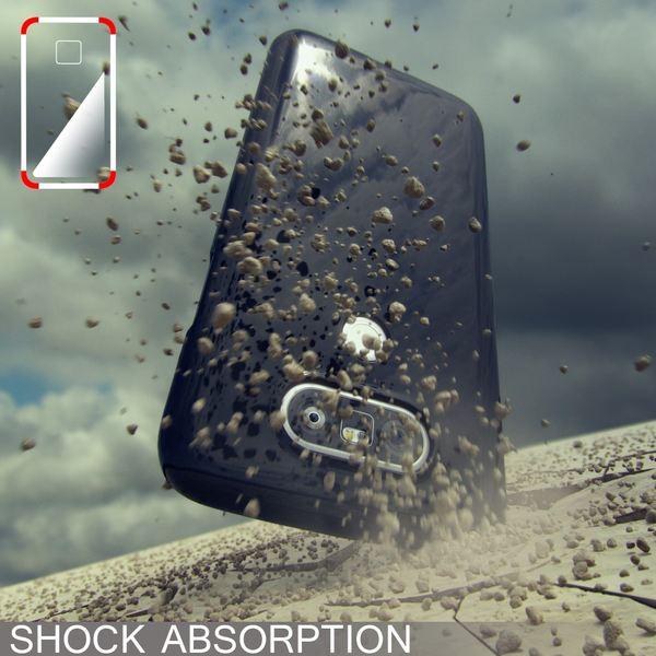 NALIA Handyhülle für LG G5, Ultra-Slim TPU Silikon Jelly Case, Dünnes Cover Gummi Schutzhülle Phone Skin, Etui Handy-Tasche Backcover Bumper LG G 5 Smartphone - Weiß – Bild 5