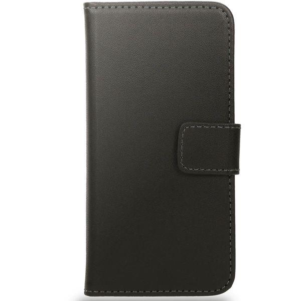 NALIA Schutzhülle für Apple iPhone SE / 5 / 5S, Hülle Lederoptik Handy Klapphülle Bookstyle Handyhülle Cover Case - Schwarz – Bild 4