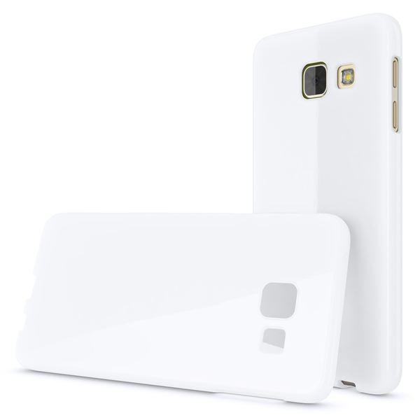 NALIA Handyhülle kompatibel mit Samsung Galaxy A5 2016, Ultra-Slim TPU Silikon Jelly Case Hülle, Dünne Gummi Schutzhülle Skin Etui Handy-Tasche Telefon-Schale Back-Cover Smart-Phone Bumper - Weiß – Bild 4