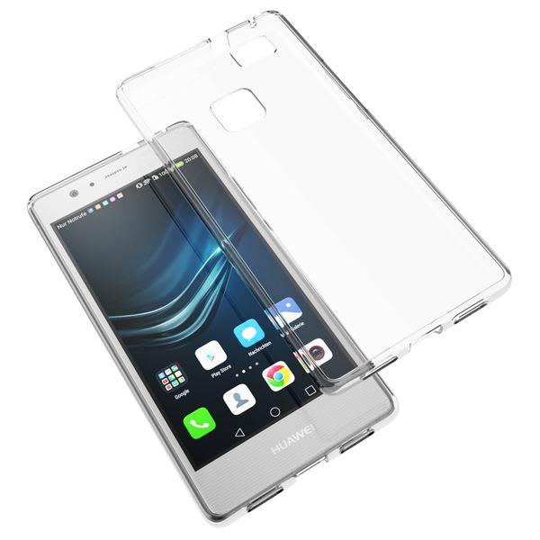 NALIA Handyhülle kompatibel mit Huawei P9 Lite 2016, Slim Silikon Motiv Case Cover Hülle Crystal Schutzhülle Dünn Durchsichtig, Handy-Tasche Schale Thin Back-Cover Smart-Phone Bumper - Transparent – Bild 5
