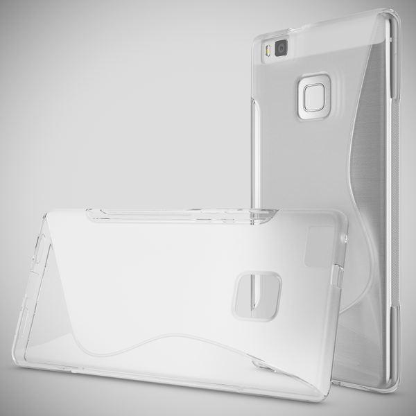 NALIA Handyhülle kompatibel mit Huawei P9 Lite, Ultra-Slim Silikon Case Cover Hülle Dünn Crystal Schutzhülle, Etui Handy-Tasche Back-Cover Bumper Thin TPU Smart-Phone Gummi Hülle - S-Line Transparent – Bild 7