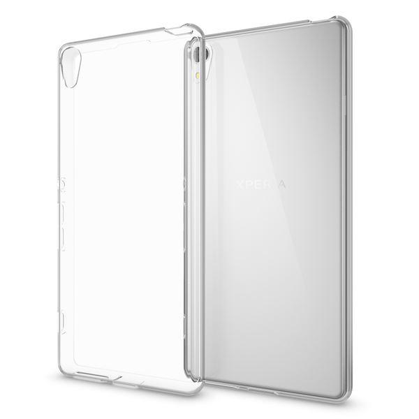 NALIA Handyhülle kompatibel mit Sony Xperia XA, Slim Silikon Motiv Case Phone Cover Crystal Schutzhülle Dünn Durchsichtig, Etui Handy-Tasche Backcover, Transparenter Bumper - Transparent – Bild 1