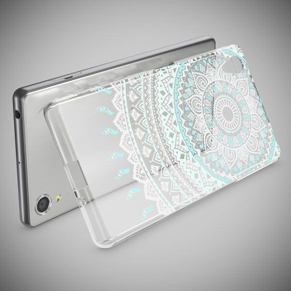 NALIA Handyhülle kompatibel mit Sony Xperia X, Slim Silikon Motiv Case Smart-Phone Crystal Schutzhülle Dünn Durchsichtig, Etui Handy-Tasche Transparent Back-Cover Bumper – Bild 6