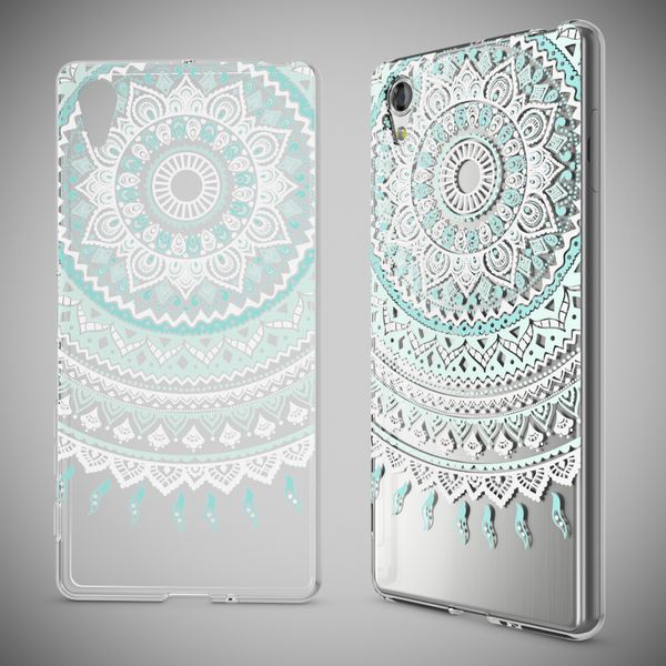 NALIA Handyhülle kompatibel mit Sony Xperia X, Slim Silikon Motiv Case Smart-Phone Crystal Schutzhülle Dünn Durchsichtig, Etui Handy-Tasche Transparent Back-Cover Bumper – Bild 7