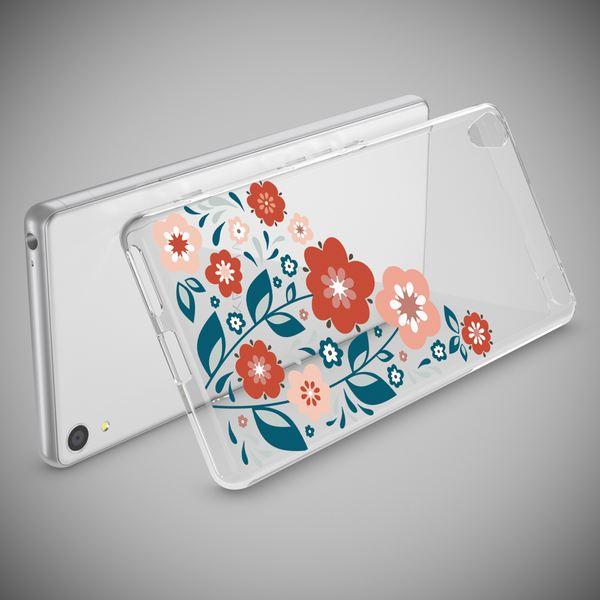 NALIA Handyhülle kompatibel mit Sony Xperia XA, Slim Silikon Motiv Case Phone Cover Crystal Schutzhülle Dünn Durchsichtig, Etui Handy-Tasche Transparent Backcover Bumper – Bild 15
