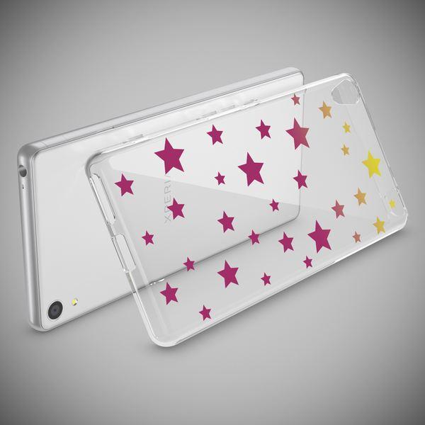 NALIA Handyhülle kompatibel mit Sony Xperia XA, Slim Silikon Motiv Case Phone Cover Crystal Schutzhülle Dünn Durchsichtig, Etui Handy-Tasche Transparent Backcover Bumper – Bild 12