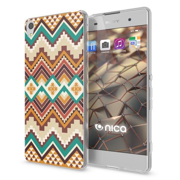NALIA Handyhülle kompatibel mit Sony Xperia XA, Slim Silikon Motiv Case Phone Cover Crystal Schutzhülle Dünn Durchsichtig, Etui Handy-Tasche Transparent Backcover Bumper – Bild 8