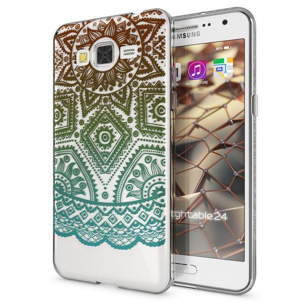 NALIA Handyhülle kompatibel mit Samsung Galaxy Grand Prime, Slim Silikon Motiv Case Cover Crystal Schutzhülle Dünn Durchsichtig, Etui Handy-Tasche Back-Cover Transparent – Bild 20