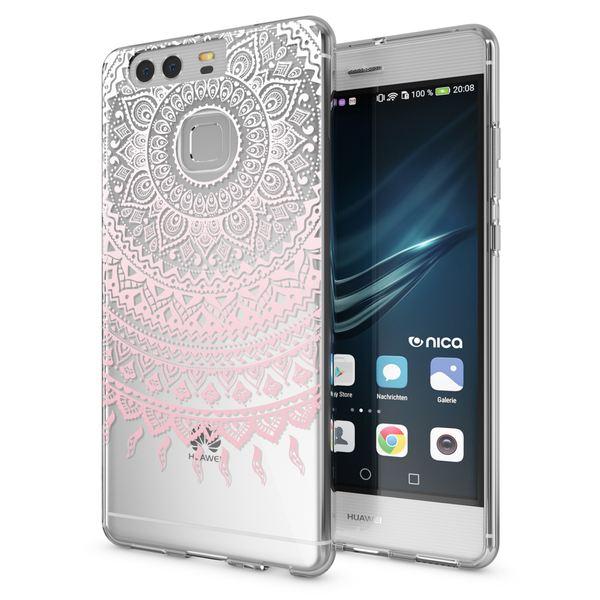 NALIA Handyhülle kompatibel mit Huawei P9, Slim Silikon Motiv Case Cover Hülle Crystal Schutzhülle Dünn Durchsichtig Etui Handy-Tasche Back-Cover Transparent Phone Bumper – Bild 8
