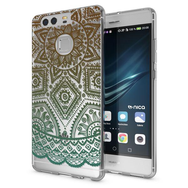 NALIA Handyhülle kompatibel mit Huawei P9, Slim Silikon Motiv Case Cover Hülle Crystal Schutzhülle Dünn Durchsichtig Etui Handy-Tasche Back-Cover Transparent Phone Bumper – Bild 11
