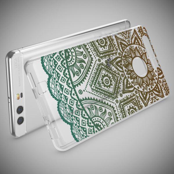 NALIA Handyhülle kompatibel mit Huawei P9, Slim Silikon Motiv Case Cover Hülle Crystal Schutzhülle Dünn Durchsichtig Etui Handy-Tasche Back-Cover Transparent Phone Bumper – Bild 12