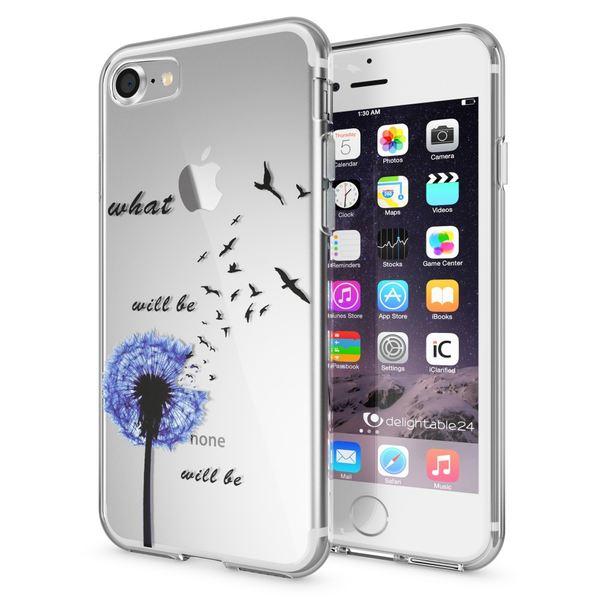 NALIA Handyhülle kompatibel mit iPhone 7, Slim Silikon Motiv Handy-Case Crystal Schutz-Hülle Dünn Durchsichtig, Etui Handy-Tasche Schale Back-Cover Transparent Bumper – Bild 22