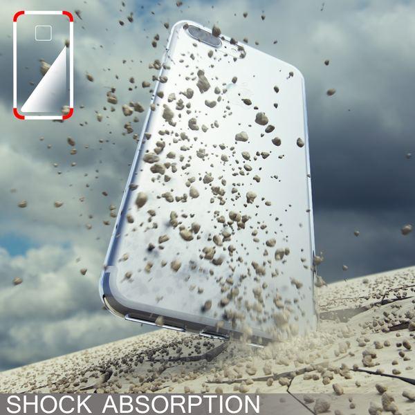 NALIA Handyhülle für iPhone 8 Plus / 7 Plus, Ultra-Slim Silikon Case, Dünne Crystal Schutz-Hülle, Etui Handy-Tasche Back-Cover Bumper, Gummihülle für Apple i-Phone 7+ / 8+ - Transparent Pink – Bild 7