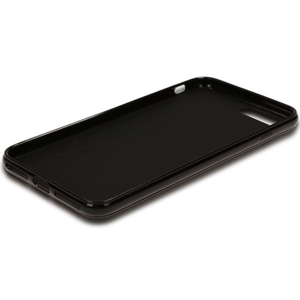 NALIA Handyhülle kompatibel mit iPhone 8 Plus / 7 Plus, Ultra-Slim TPU Silikon Jelly Case, Dünne Gummi Schutz-Hülle Telefon-Schale Skin, Etui Handy-Tasche Back-Cover Thin Smart-Phone Bumper - Schwarz – Bild 6