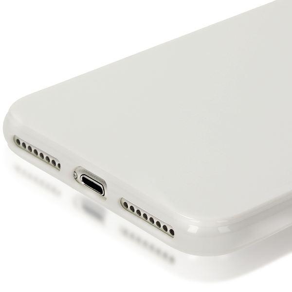 NALIA Handyhülle für iPhone 8 Plus / 7 Plus, Ultra-Slim TPU Silikon Jelly Case, Dünner Gummi Schutz-Hülle Skin, Etui Handy-Tasche Back-Cover Bumper für Apple i-Phone 7 Plus / 8 Plus - Weiß – Bild 5