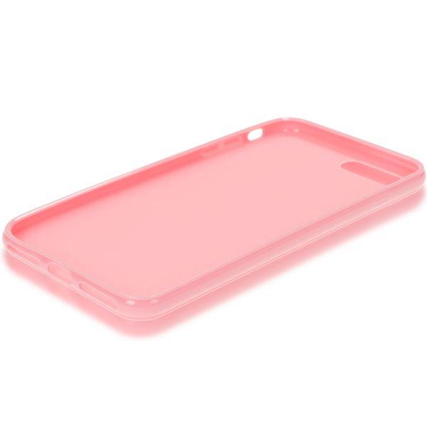 NALIA Handyhülle für iPhone 8 Plus / 7 Plus, Ultra-Slim TPU Silikon Jelly Case, Dünner Gummi Schutz-Hülle Skin, Etui Handy-Tasche Back-Cover Bumper für Apple i-Phone 7 Plus / 8 Plus - Rosa – Bild 6
