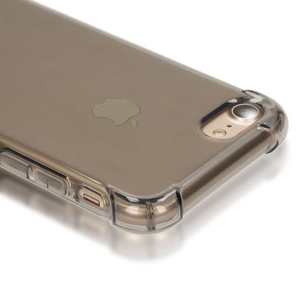 NALIA Handyhülle kompatibel mit iPhone 8 / 7, Ultra-Slim Silikon Case Cover Crystal Schutz-Hülle Dünn Durchsichtig, Etui Handy-Tasche Telefon-Schale Backcover Transparent Smart-Phone Bumper - Grau – Bild 2