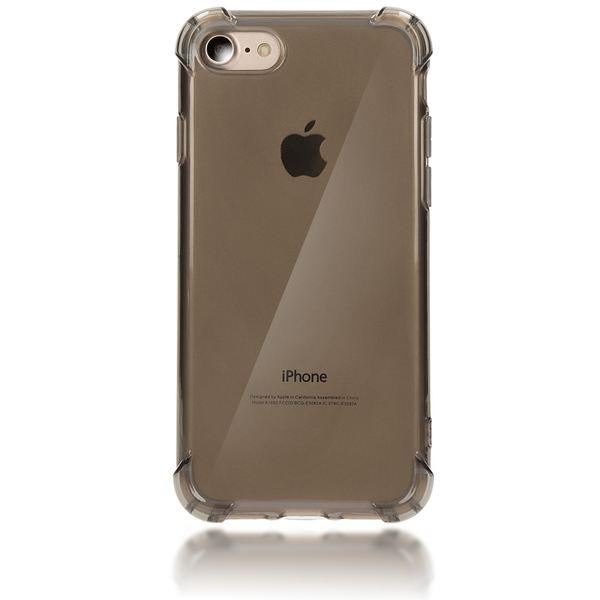 NALIA Handyhülle kompatibel mit iPhone 8 / 7, Ultra-Slim Silikon Case Cover Crystal Schutz-Hülle Dünn Durchsichtig, Etui Handy-Tasche Telefon-Schale Backcover Transparent Smart-Phone Bumper - Grau – Bild 5