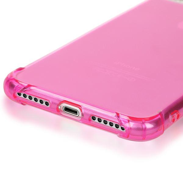 NALIA Handyhülle für iPhone 8 Plus / 7 Plus, Ultra-Slim Silikon Case Crystal Schutz-Hülle Dünn Durchsichtig, Etui Handy-Tasche Back-Cover Transparent Bumper für Apple iPhone 7Plus / 8Plus - Pink – Bild 5