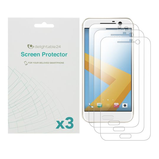Smartphone Schutzfolien von NALIA, TPU Display-Schutzfolie Bildschirm-Abdeckung Display-Folie Film, Tempered Glass Screen Protector für verschiedene Handy-Modelle (3x) - Kristallklar Transparent – Bild 7