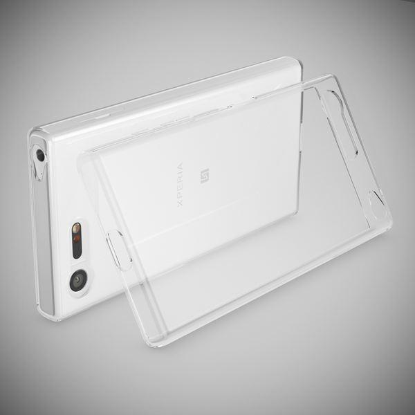 NALIA Handyhülle kompatibel mit Sony Xperia X Compact, Slim Silikon Motiv Case Phone Cover Crystal Schutzhülle Dünn Durchsichtig, Etui Handy-Tasche Backcover Transparent Bumper - Transparent – Bild 2