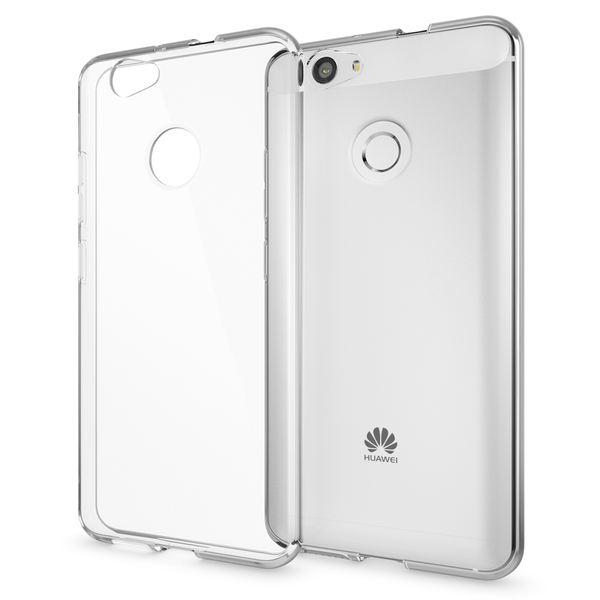 NALIA Handyhülle kompatibel mit Huawei Nova, Slim Silikon Motiv Case Cover Hülle Crystal Schutzhülle Dünn Durchsichtig, Etui Handy-Tasche Telefon-Schale Back-Cover Smart-Phone Bumper - Transparent – Bild 1