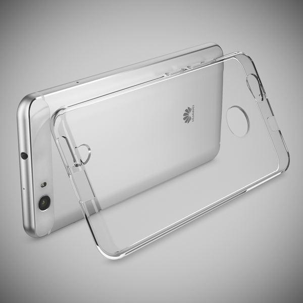 NALIA Handyhülle für Huawei Nova, Slim Silikon Motiv Case Cover Hülle Crystal Schutzhülle Dünn Durchsichtig, Etui Handy-Tasche Backcover Transparent Bumper für Nova Phone - Transparent – Bild 2
