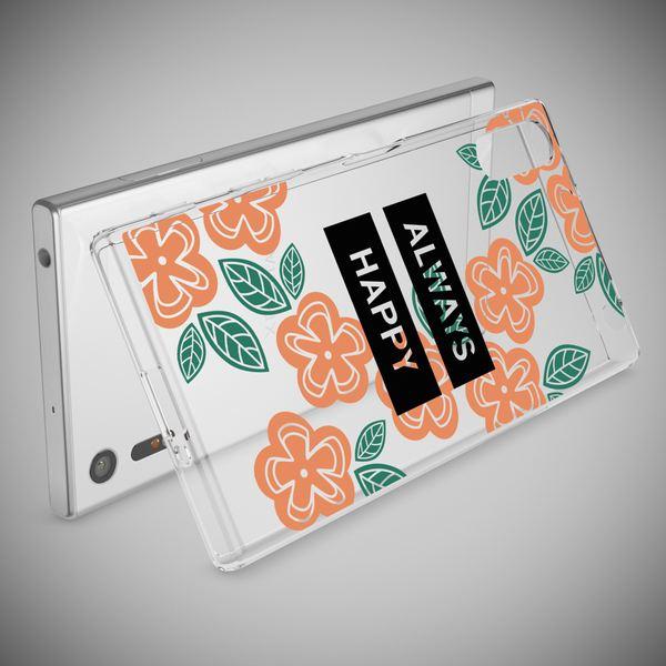 NALIA Handyhülle kompatibel mit Sony Xperia XZ, Slim Silikon Motiv Case Phone Cover Crystal Schutzhülle Dünn Durchsichtig, Etui Handy-Tasche Transparent Backcover Bumper – Bild 3