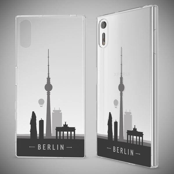 NALIA Handyhülle kompatibel mit Sony Xperia XZ, Slim Silikon Motiv Case Phone Cover Crystal Schutzhülle Dünn Durchsichtig, Etui Handy-Tasche Transparent Backcover Bumper – Bild 10