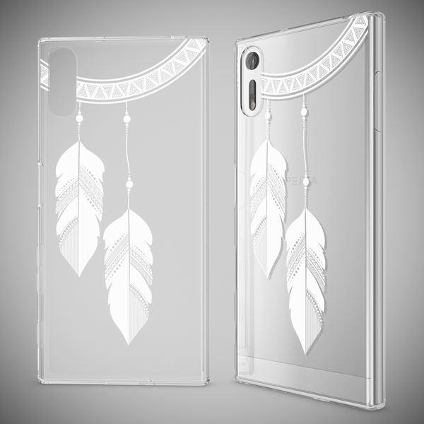 NALIA Handyhülle kompatibel mit Sony Xperia XZ, Slim Silikon Motiv Case Phone Cover Crystal Schutzhülle Dünn Durchsichtig, Etui Handy-Tasche Transparent Backcover Bumper – Bild 19
