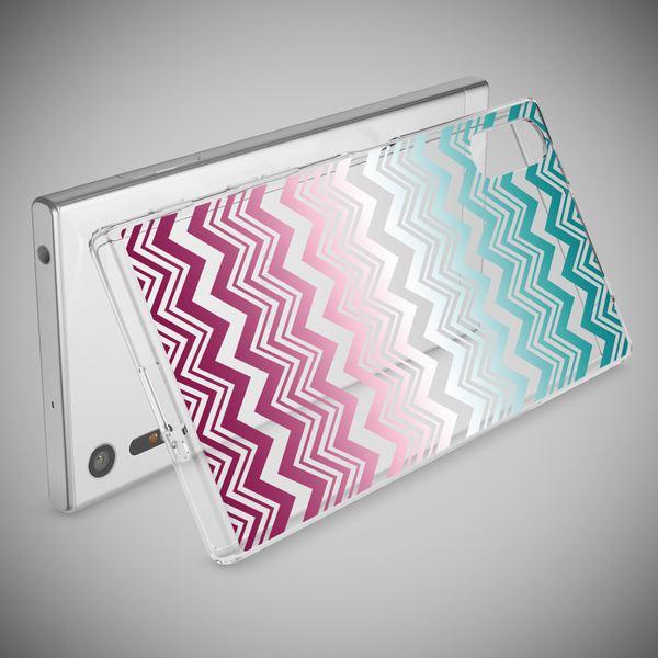 NALIA Handyhülle kompatibel mit Sony Xperia XZ, Slim Silikon Motiv Case Phone Cover Crystal Schutzhülle Dünn Durchsichtig, Etui Handy-Tasche Transparent Backcover Bumper – Bild 24