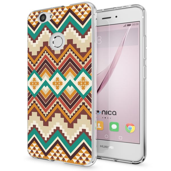 NALIA Handyhülle kompatibel mit Huawei Nova, Slim Silikon Motiv Case Cover Hülle Crystal Schutzhülle Dünn Durchsichtig, Etui Handy-Tasche Back-Cover Smart-Phone Bumper – Bild 5