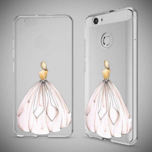 NALIA Handyhülle für Huawei Nova, Slim Silikon Motiv Case Cover Hülle Crystal Schutzhülle Dünn Durchsichtig, Etui Handy-Tasche Backcover Transparent Bumper für Nova Phone – Bild 25