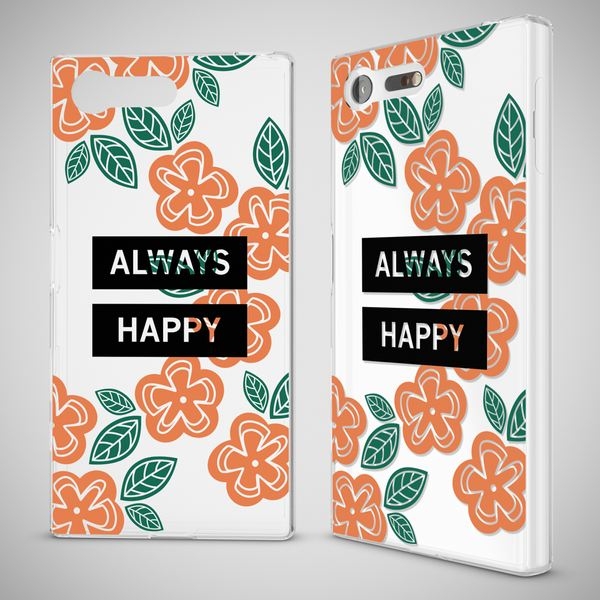 NALIA Handyhülle kompatibel mit Sony Xperia X Compact, Slim Silikon Motiv Case Phone Crystal Schutzhülle Dünn Durchsichtig Etui Handy-Tasche Back-Cover Transparent Bumper – Bild 4
