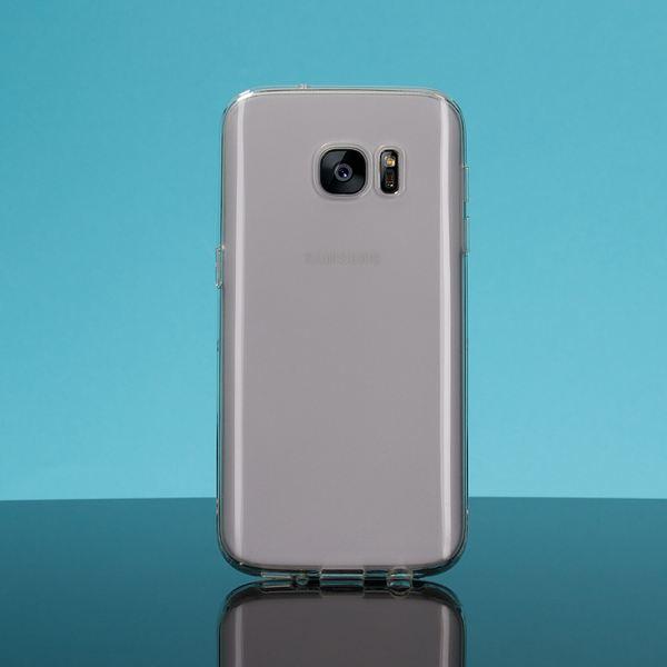 NALIA Handyhülle kompatibel mit Samsung Galaxy S7, Glitzer Ultra-Slim Silikon-Case Back-Cover Schutzhülle Glitter Sparkle Handy-Tasche Schale Bumper, Dünnes Bling Strass Smart-Phone Etui - Rose Pink – Bild 5