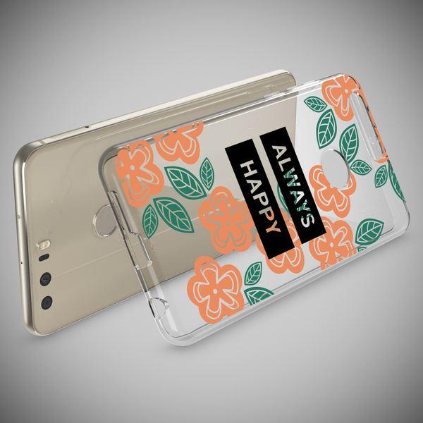 NALIA Handyhülle kompatibel mit Huawei Honor 8, Slim Silikon Motiv Case Cover Hülle Crystal Schutzhülle Dünn Durchsichtig, Etui Handy-Tasche Backcover Transparent Bumper – Bild 3