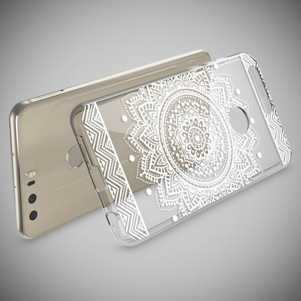 NALIA Handyhülle kompatibel mit Huawei Honor 8, Slim Silikon Motiv Case Cover Hülle Crystal Schutzhülle Dünn Durchsichtig, Etui Handy-Tasche Backcover Transparent Bumper – Bild 21
