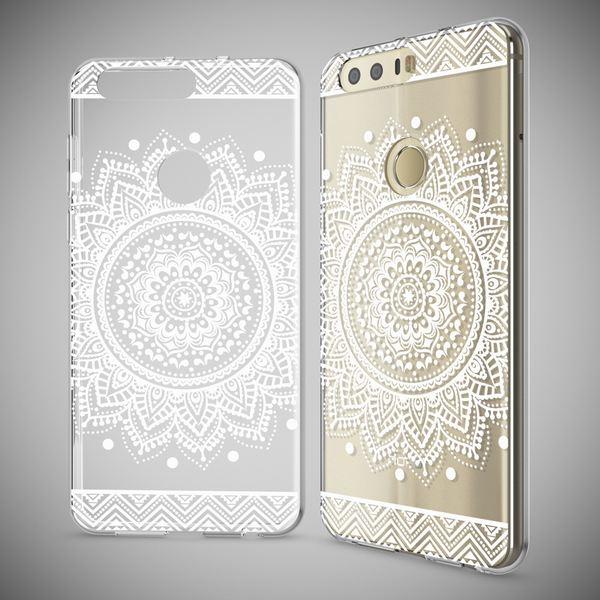 NALIA Handyhülle kompatibel mit Huawei Honor 8, Slim Silikon Motiv Case Cover Hülle Crystal Schutzhülle Dünn Durchsichtig, Etui Handy-Tasche Backcover Transparent Bumper – Bild 22