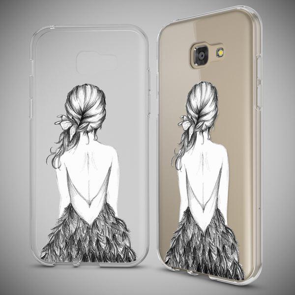 NALIA Handyhülle kompatibel mit Samsung Galaxy A5 2017, Slim Silikon Motiv Case Cover Schutz-Hülle Dünn Durchsichtig Etui Handy-Tasche Backcover Transparent Bumper – Bild 13