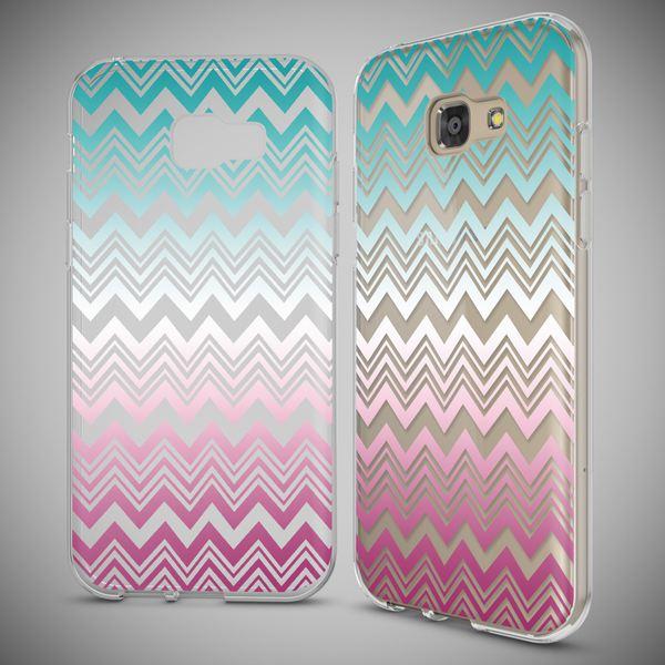 NALIA Handyhülle kompatibel mit Samsung Galaxy A5 2017, Slim Silikon Motiv Case Cover Schutz-Hülle Dünn Durchsichtig Etui Handy-Tasche Backcover Transparent Bumper – Bild 25