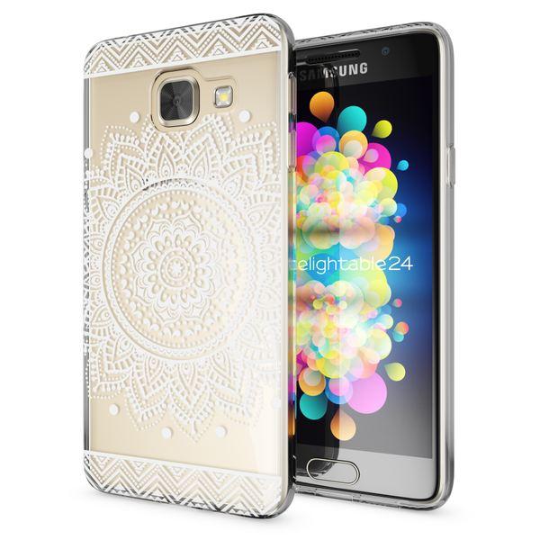 NALIA Handyhülle kompatibel mit Samsung Galaxy A3 2017, Ultra-Slim Silikon Motiv Case Cover Hülle Dünn Durchsichtig Etui Handy-Tasche Backcover Transparent Bumper – Bild 23