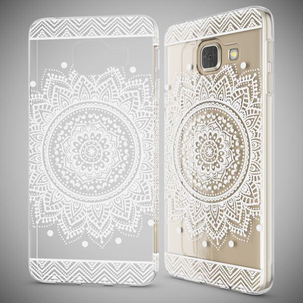 NALIA Handyhülle kompatibel mit Samsung Galaxy A3 2017, Ultra-Slim Silikon Motiv Case Cover Hülle Dünn Durchsichtig Etui Handy-Tasche Backcover Transparent Bumper – Bild 25