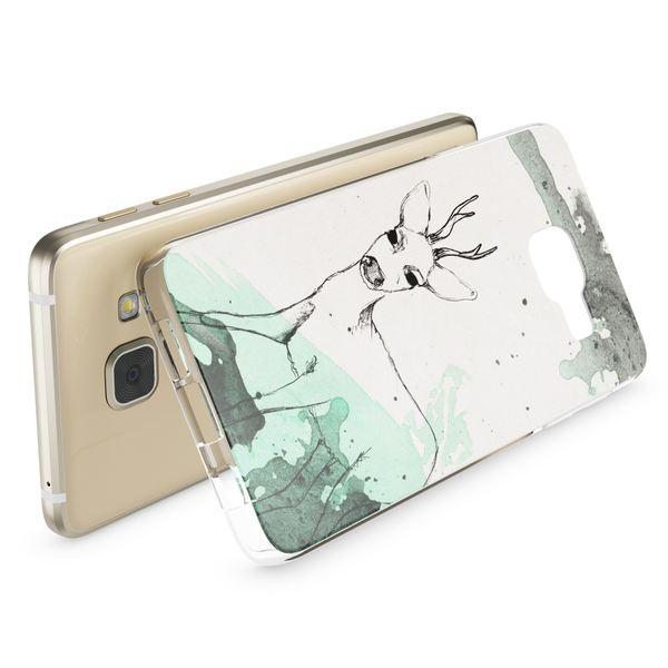 NALIA Handyhülle kompatibel mit Samsung Galaxy A3 2017, Ultra-Slim Silikon Motiv Case Cover Hülle Dünn Durchsichtig Etui Handy-Tasche Backcover Transparent Bumper – Bild 6